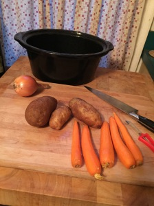 Maine weekend and crockpot meal 049