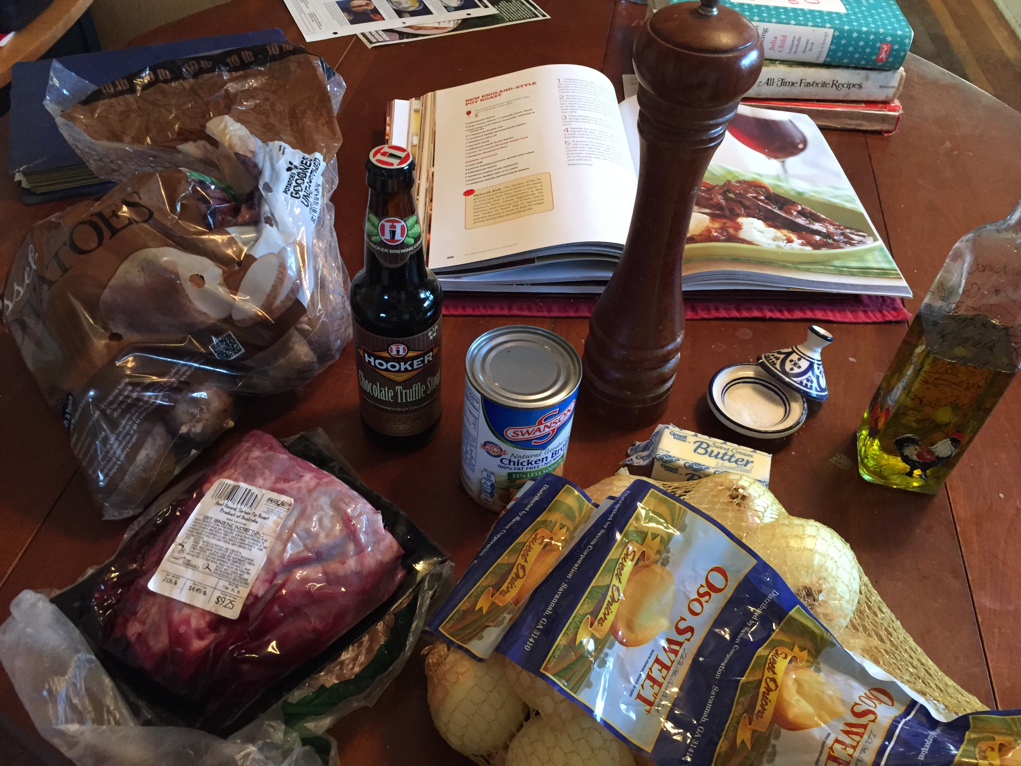 quinoa and pot roast 017