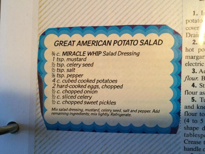 Miracle Whip recipe